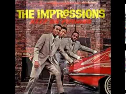 the-impressions---keep-on-pushing