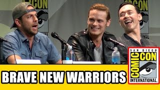 Brave New Warriors Comic Con Panel - Sam Heughan, Zachary Levi, Kevin Durand, Robert Kazinsky