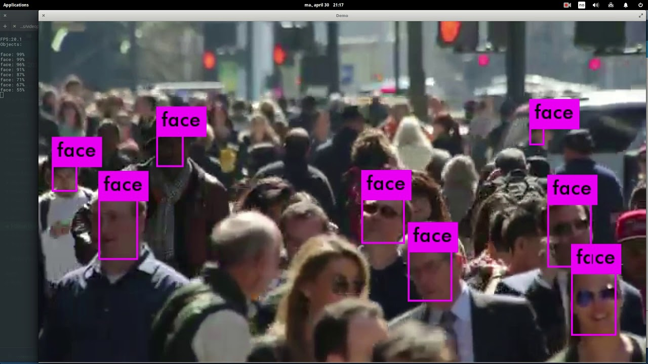 Face recognition using Yolo