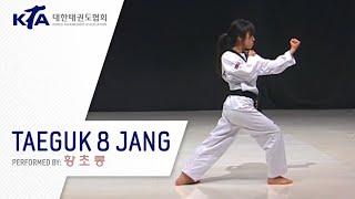 Taeguk 8 Jang (Hwang Cho-reong, KTA Korea Taekwondo Association)