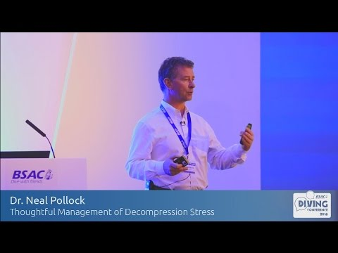 Thoughtful management of decompression stress - Dr Neal Pollock at BSAC's Diving Conference 2016