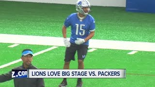Lions love the big state vs. Packers
