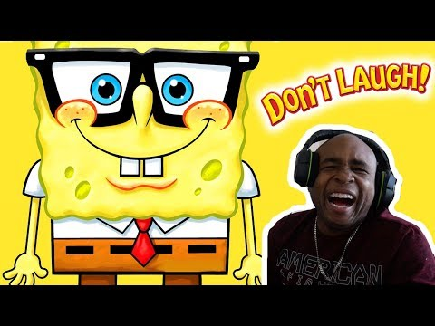 Try Not To Laugh Challenge The Best Of Spongebob SquarePants Edition #3