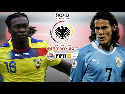 Ecuador vs. Uruguay | CONMEBOL | Road To World Cup Germany 2017 | FIFA 16