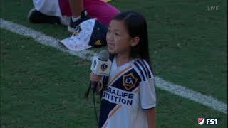 7 Year-Old Crushes National Anthem, Zlatan Approves Video
