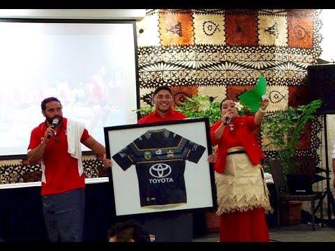 Mate Ma'a Tonga National Rugby League Fundraiser