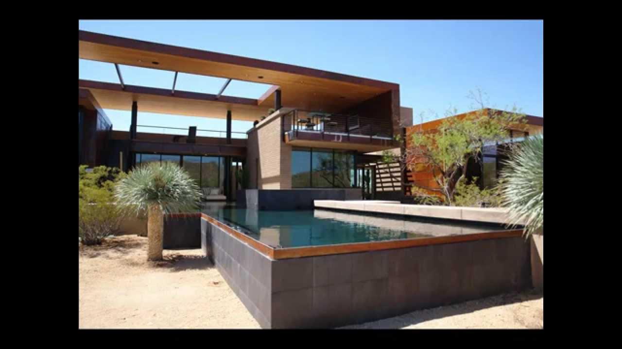 Raised Negative Edge Pool With Spa Tucson Az Youtube