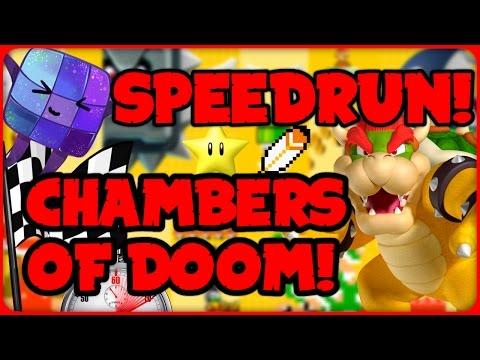 Bowser's Chambers of Doom - ULTIMATE SPEEDRUN! - Super Mario Maker Online