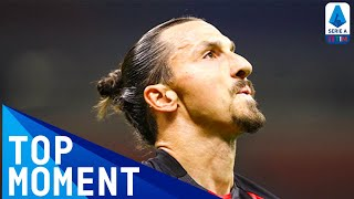 Zlatan Scores Milan s First Goal Of The Season Milan 2 0 Bologna Top Moment Serie A TIM