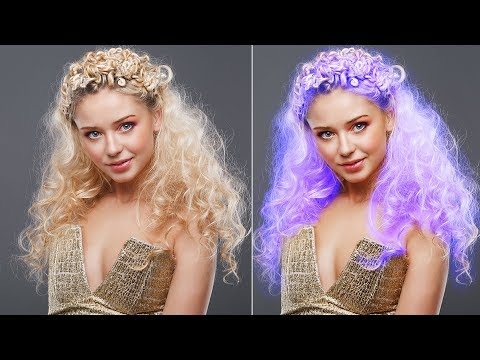 How To Change Hair Color In Photoshop | Photoshop Hair Color Tutorial | Photoshop Tutorials