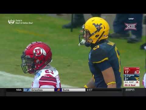 Utah vs. West Virginia Football Highlights