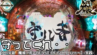【CR牙狼 魔戒ノ花~BEAST OF GOLD ver.~】-実践-守ってくれの巻