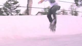 Skateboard Tricks: Half-Cab 180 Kickflip Foot Position