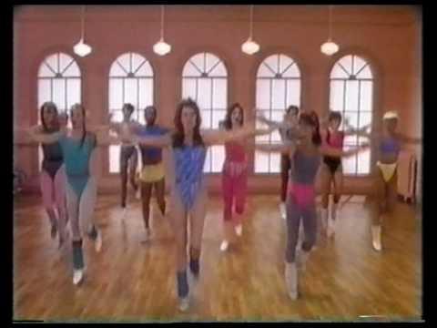 Jane Fonda's New Workout - Leslie Lilien  Singing