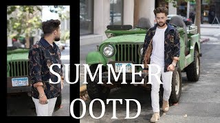 Summer OOTD | Mens Outfit Inspiration | Mens Summer Fashion 2017