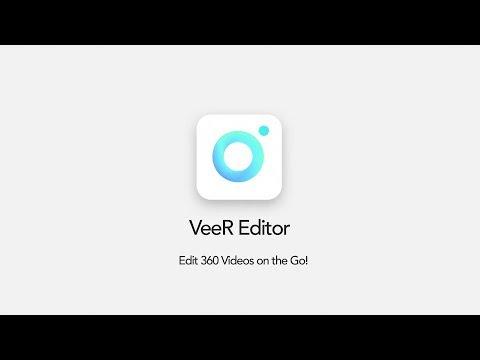 VeeR Editor - Edit 360 Videos on the Go