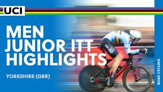 Men Junior ITT Highlights | 2019 UCI Road World Championships