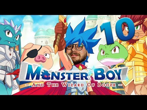 Nils + Bester Let's Player vs. Vulkan-Rätsel   Monster Boy and the Cursed Kingdom mit Etienne #10 thumbnail