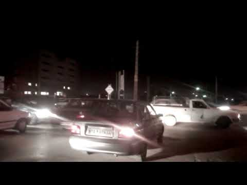 Опасно для жизни. Дорожное движение в Тегеране, Иран \ Road traffic in tehran, Iran