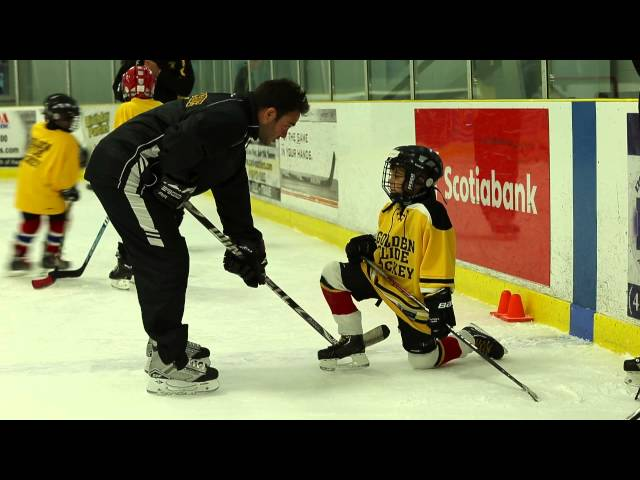 Golden Glide Hockey Promo