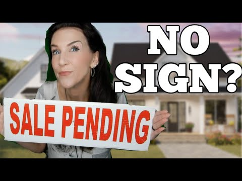 No Sale Pending Sign, Take A Tip Tuesday