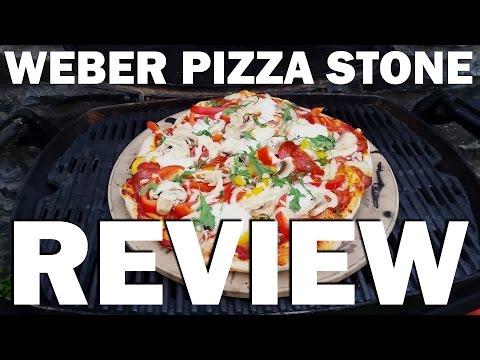 Weber Pizza Stone Review Using Weber Q220