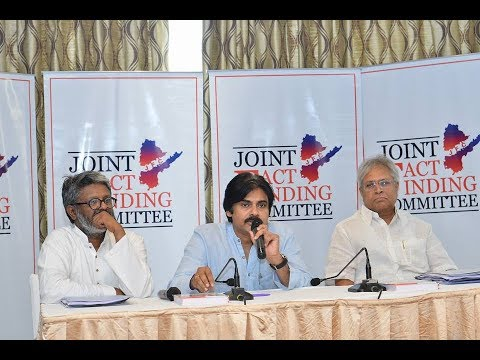 Janasena Chief Pawan Kalyan Meeting JFC members | Day-2 | Press Meet