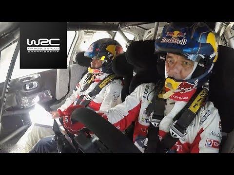 WRC 2017: Sébastien Loeb tests Citroen´s C3 WRC