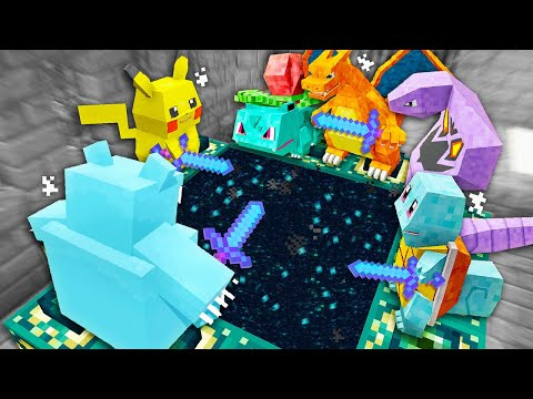 Minecraft But Pokemon