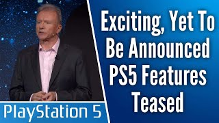 AAA Game Dev Teases Big PS5 Features To Be Revealed // Sony Trademarks PlayStation 5 In Japan