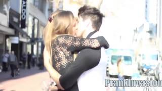 Top 5 Kissing Pranks   Kissing Prank Gone Right! Kissing Prank…