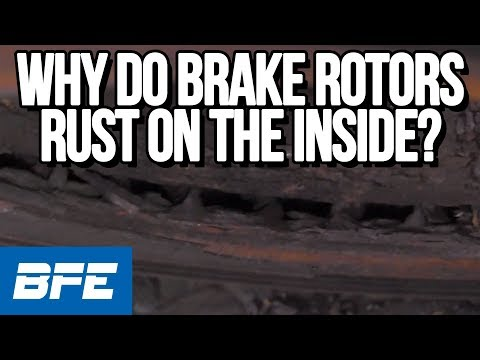Why do brake rotors rust on the inside? | Tech Minute