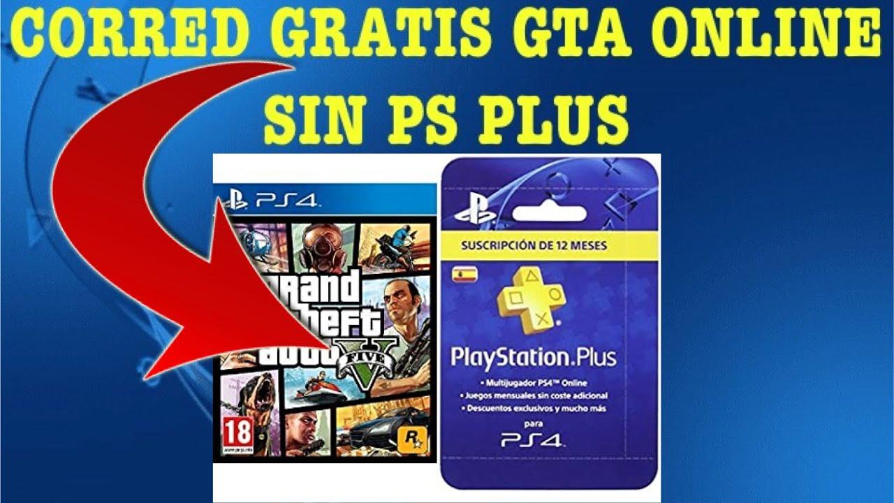 Gratis Gta Online Sin Ps Plus Ps4 Youtube