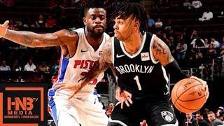 Detroit Pistons vs Brooklyn Nets Full Game Highlights | 10.08.2018, NBA Preseason