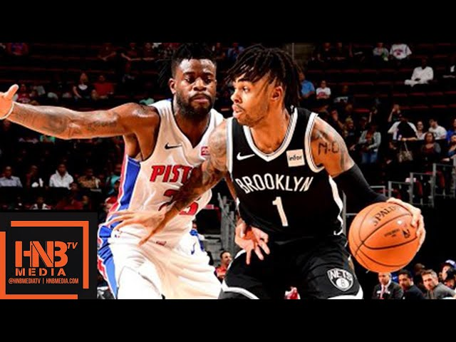 Detroit Pistons vs Brooklyn Nets Full Game Highlights | 10.08.2018, NBA Preseason