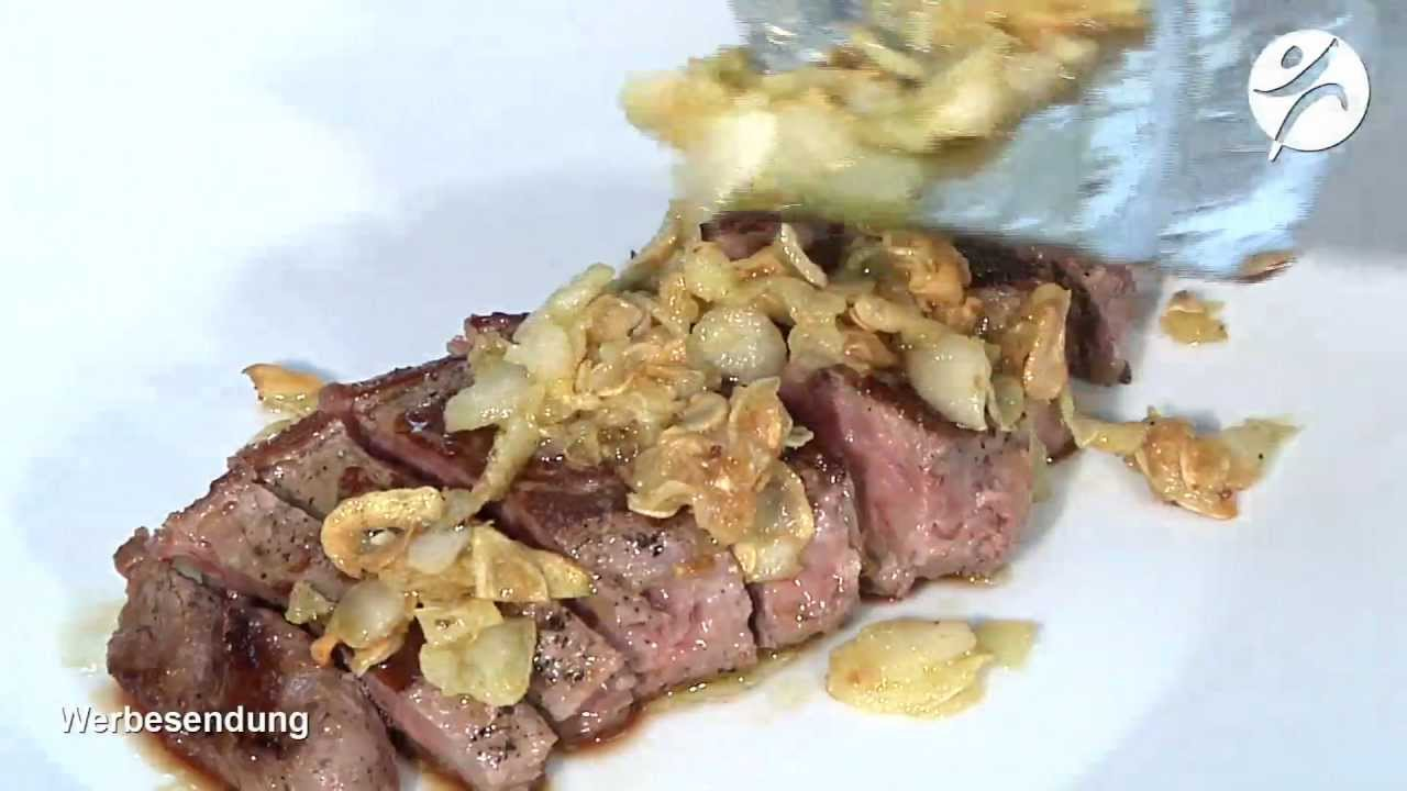 Video: Rumpsteak Teppan Yaki Knoblauch-Chips Trum_11_11.m4v
