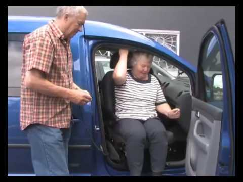 Wheelchair Lift For Car >> Turny swivel seat lift with Carony wheelchair system - YouTube