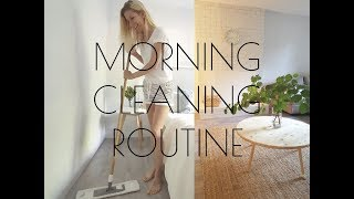 MORNING CLEANING ROUTINE / clean with me