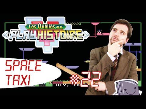 """#22 """"Space Taxi"""" Les Oubliés de la Playhistoire (Commodore 64)"""