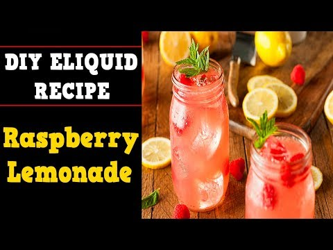 Raspberry Lemonade [Shake & Vape Eliquid DIY Recipe]