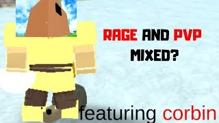 THE PVPING RAGE BOIS!!! *angery noobs* (Roblox Booga Booga)