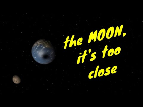 How close can the moon orbit the Earth ?
