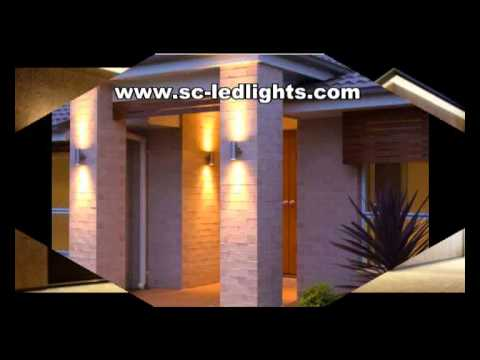 Led Outdoor Up And Down Wall Light