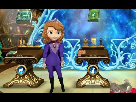 Sofia The First Secret Library Disney Junior Games Android Ios