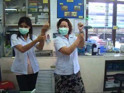 การล้างมือขั้นเทพ โดยห้อง LAB