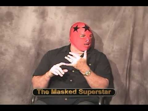 KICW - Interview with The Masked Superstar!