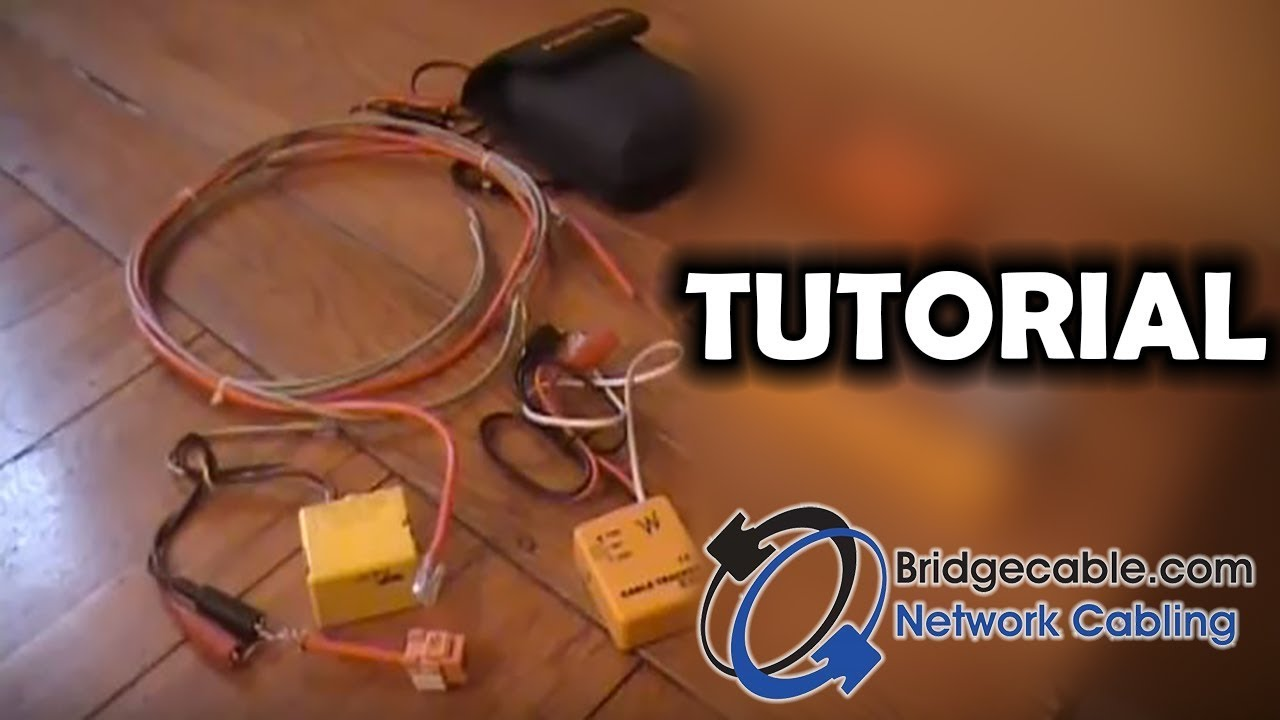 diy guide or intro to tracing out network cabling with a toner bridgecable com [ 1280 x 720 Pixel ]