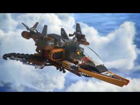 lego ninjago squalo volante 2016 italiano youtube