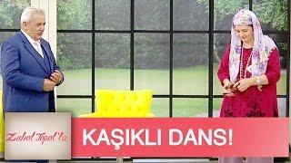 Zuhal Topal la 9 Bölüm Ayşe Teyze den Kaşıklı Dans Gösterisi