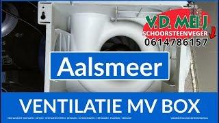 Onderhoud Huis Ventilatiesysteem Aalsmeer (0614786157) VD Meij Mechanische Ventilatie NL